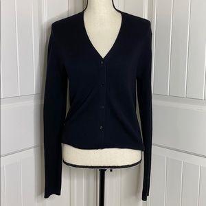 Ann Taylor Black cardigan sweater